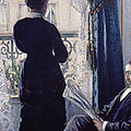 Interior Woman At The Window by Gustave Caillebotte