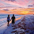 Into The Sunset by Mary Giacomini