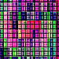 Iphone Cases Colorful Intricate Geometric Covers Cell And Mobile Phone Art Carole Spandau Cbs 169  by Carole Spandau