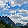 Iridescent Clouds Above Ouray Colorado by Janice Rae Pariza