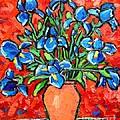 Iris Bouquet by Ana Maria Edulescu