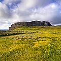 Iron Age Ruins Of Dun Aengus On The Irish Coast by Mark E Tisdale