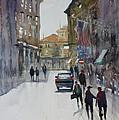 Italian Impressions 1 Print by Ryan Radke