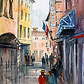 Italian Impressions 3 Print by Ryan Radke