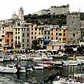 Italian Seaside Village by Jim  Calarese