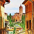 Italy Siena by Irina Sztukowski