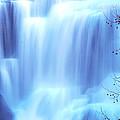 Ithaca Water Falls New York  by Paul Ge