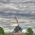 Iwo Jima Memorial - Washington Dc - 01131 by DC Photographer