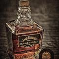 Jack Daniel's Single Barrel Print by Erik Brede