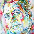 Jack Kerouac Portrait.1 by Fabrizio Cassetta