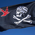 Jack Sparrow Pirate Skull Flag by Garry Gay