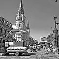 Jackson Square Monochrome by Steve Harrington