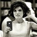 Jacky Kennedy Takes A Selfie by Tony Rubino