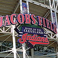 Jacobs Field - Cleveland Indians by Frank Romeo