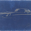 Jaguar E Type Print by Naxart Studio