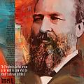 James A. Garfield by Corporate Art Task Force