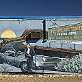 James Dean Mural In Tucumcari On Route 66 by Carol Leigh