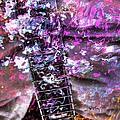 Jammin Out Digital Guitar Art By Steven Langston by Steven Lebron Langston