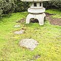 Japanese Stone Lantern Hamilton Gardens New Zealand by Colin and Linda McKie