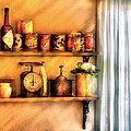 Jars - Kitchen Shelves by Mike Savad