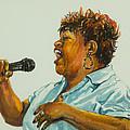 Jazz Singer by Sharon Sorrels