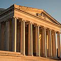 Jefferson Memorial Sunset Print by Steve Gadomski