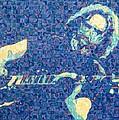 Jerry Garcia Chuck Close Style by Joshua Morton