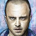 Jesse Pinkman - Breaking Bad Print by Olga Shvartsur