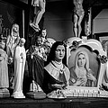 Jesus And Mary At The Curio Shop by Bob Orsillo