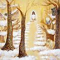 Jesus Art - The Christ Childs Asleep by Ashleigh Dyan Bayer