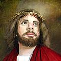 Jesus Christ Crown Of Thorns by Cecilia Brendel