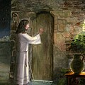 Jesus Knocking On The Door by Cecilia Brendel