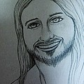 Jesus Sweet Smile Print by Esther Rowden