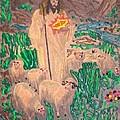 Jesus the Celebrity Print by Lisa Piper Menkin Stegeman