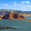 Jewel in the Desert - Lake Powell Print by Christine Till