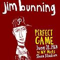 Jim Bunning Philadelphia Phillies by Jay Perkins