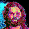 Jim Morrison 20130329 square Print by Wingsdomain Art and Photography