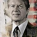Jimmy Carter by Corporate Art Task Force