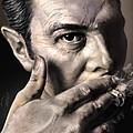 Joe Strummer-burning Lights by Reggie Duffie