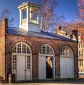 John Browns Fort - Harpers Ferry West Virginia - Modern Day Autumn by Michael Mazaika