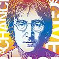 John Lennon Pop Art by Jim Zahniser