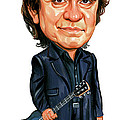 Johnny Cash by Art