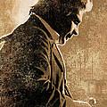 Johnny Cash Artwork by Sheraz A
