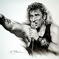 Johnny Halliday by Guillaume Bruno