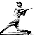 Joltin Joe Dimaggio  Joe Dimaggio by Iconic Images Art Gallery David Pucciarelli