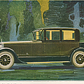 Jordan Line Eight Victoria Car 1925 by The Advertising Archives
