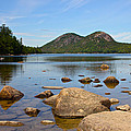 Jordan Pond Print by Jon Reddin Photography