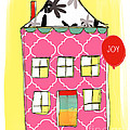 Joy House Card by Linda Woods