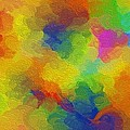 Joyful palette Poster by Abstract Digital