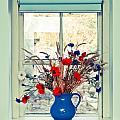 Jug Of Flowers by Tom Gowanlock